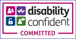 Logo of Disability Confident