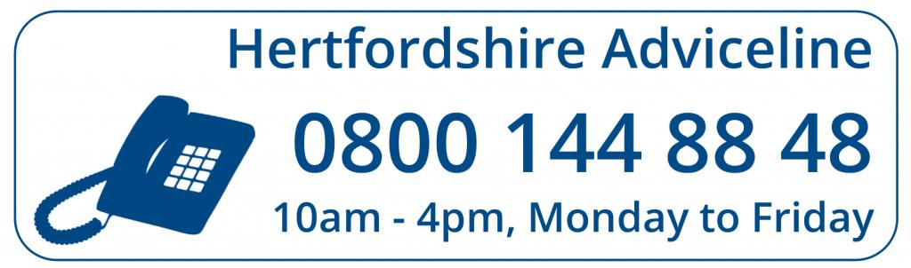 Hertforshire & Chelmsford Adviceline